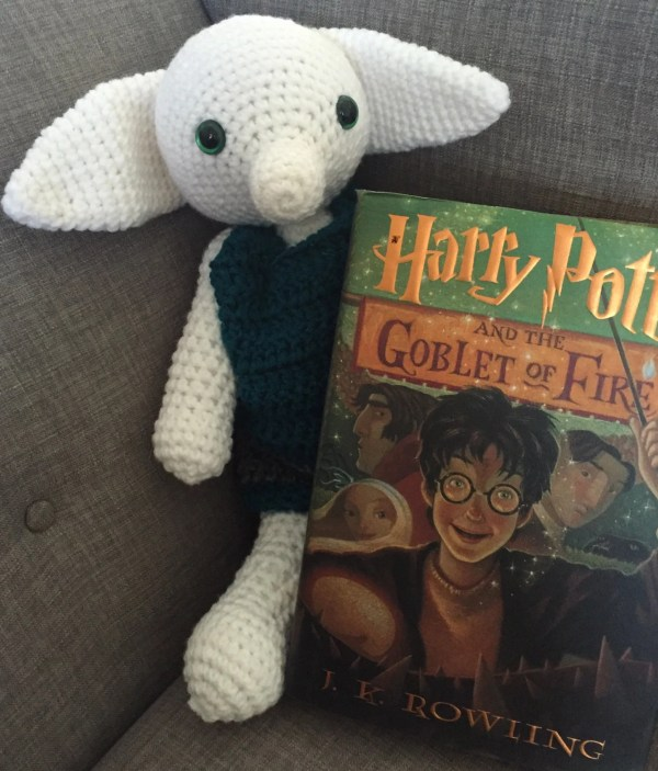 Crochet Harry Potter Dobby Doll Stuffed Toy