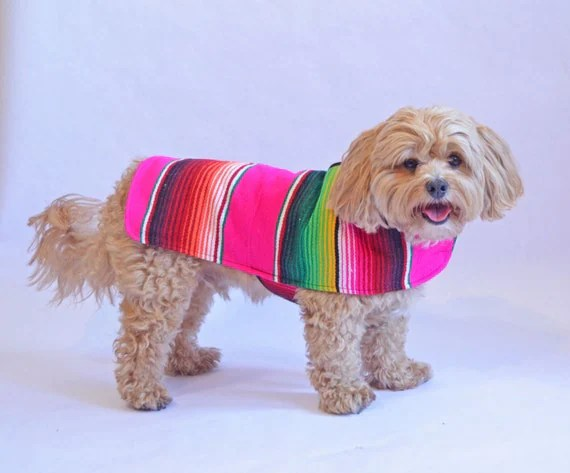Dog Clothes Pink Handmade Dog Apparel From Authentic Mexican