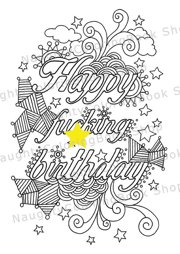 21st Birthday Happy Fcking Birthday Birthday Gift