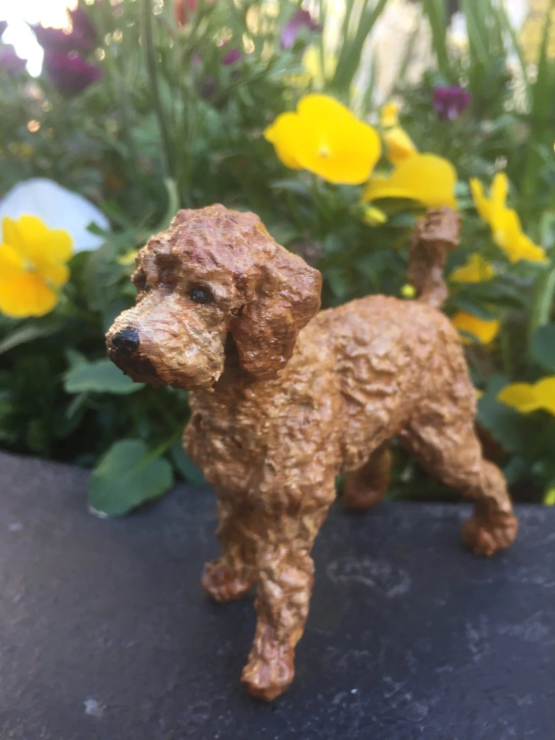 Custom Labradoodle Sculpture 3D Printed Amp By Cooldirtspot
