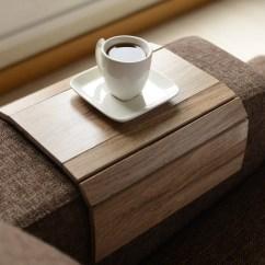 Sofa Arm Rest Tray Couches Cheap Table Handmadesofa Trayarmrest Traysofa