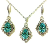 Something Blue Wedding Jewelry Set Turquoise Bridal Jewelry