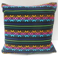 Mexican Pillow Cover Black Tribal Pillow Decorative Pillow
