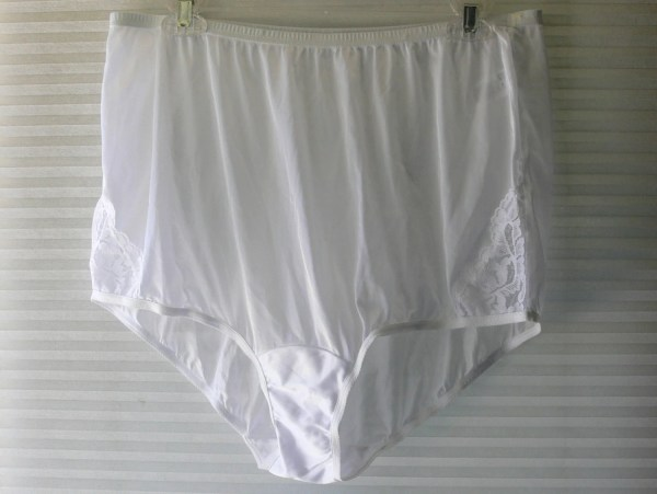 7e87d6ee20f ... Womens Panties Bloomers Briefs 7 Vanity Fair White Nylon Panties Size 9  ...