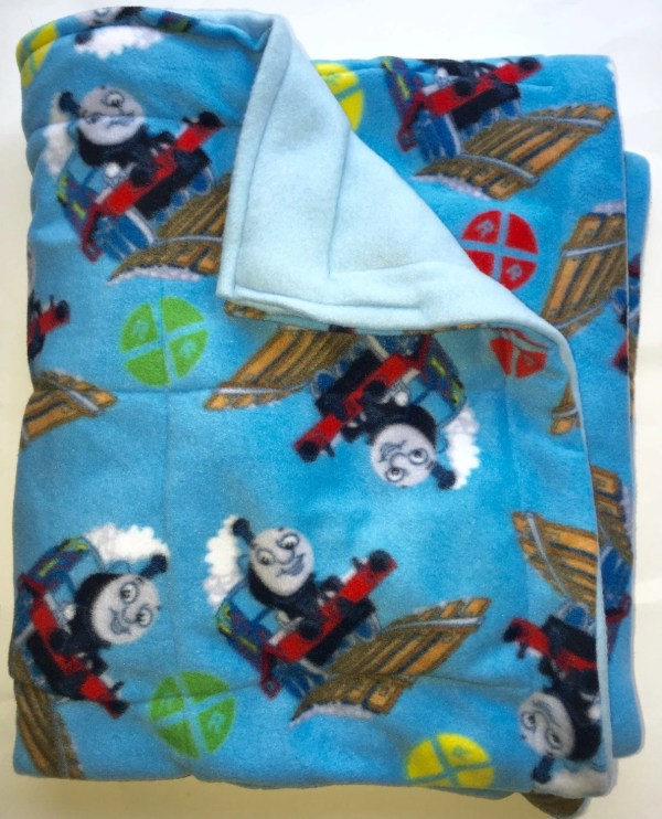 Sensory Young Child Weighted Blanket Thomas Train 5 Lbs