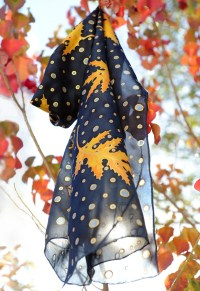 Thanksgiving Leaves Scarves for Women Page Four ...