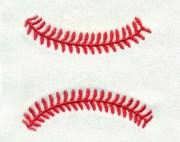 baseball laces stitches softball