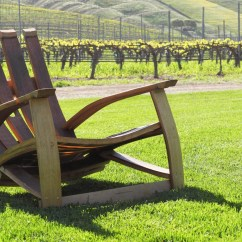 Wine Adirondack Chair Mesh Back Support Barrel By Cpbbarrelworksstore On Etsy