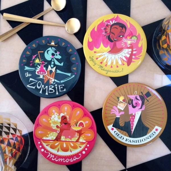 Cocktail Coaster Set Of 4