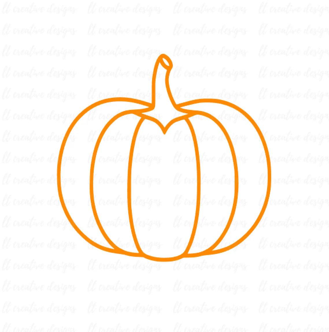 Download Pumpkin Outline SVG Fall Pumpkin SVG Pumpkin SVG Halloween