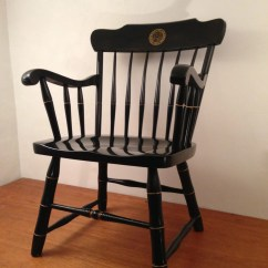 Black Spindle Chair Fishing Bcf Vintage Alumni Arm University Of Colorado