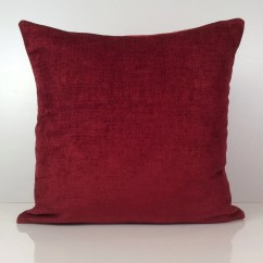 Bright Colored Sofa Pillows Recover Cushions Burgundy Pillow Throw Cover Decorative