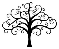 Tree of Life window decal vinyl car decals by HoundstoothHunny