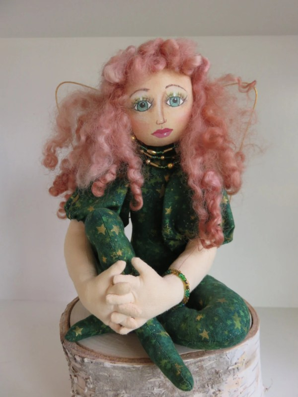 Irish Fairy Art Doll Celtic