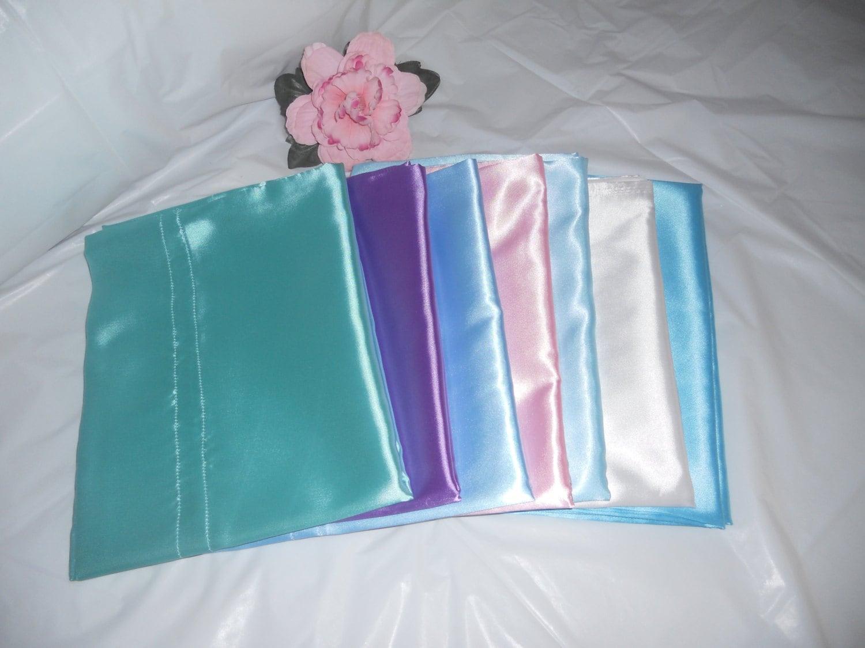 Queen Size Satin Pillowcase 21x36