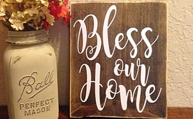 Bless Our Home Rustic Wall Decor Bless Our By