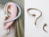 EarringsEarcuffs - earring snake, ear cuff snake, earrings ...
