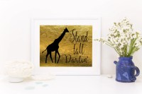 Items similar to Gold And Black Wall Art Prints, Southern ...