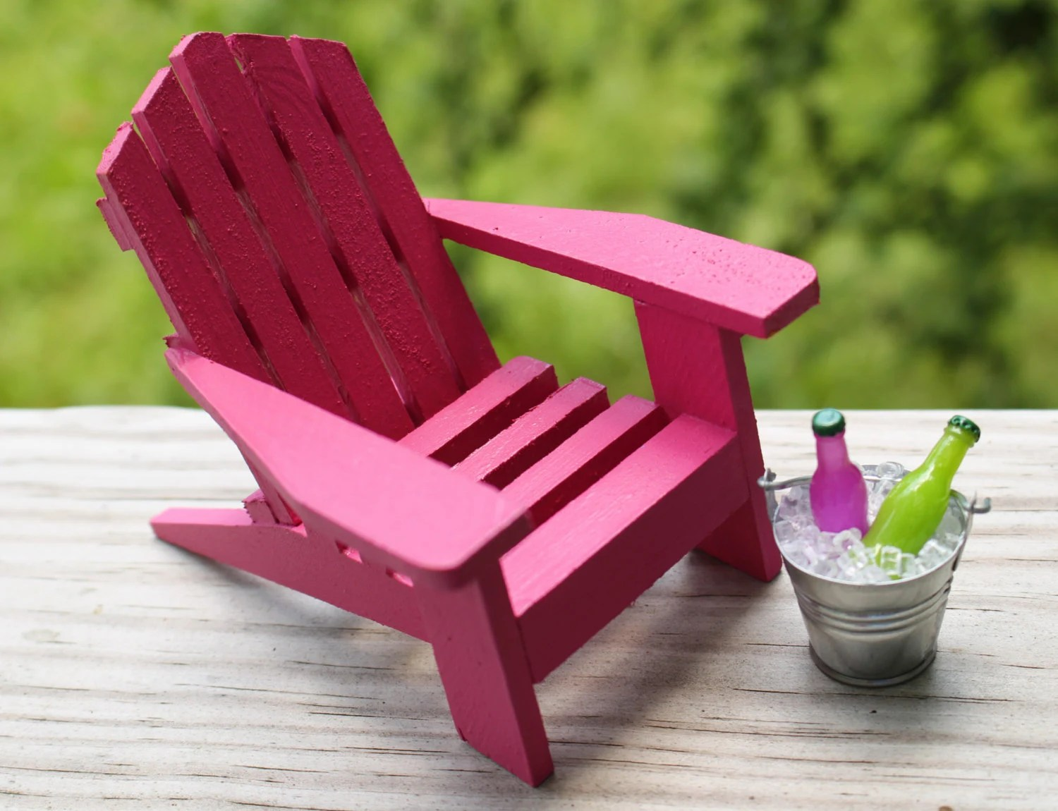 miniature adirondack chairs folding patio chair 1 beach tin