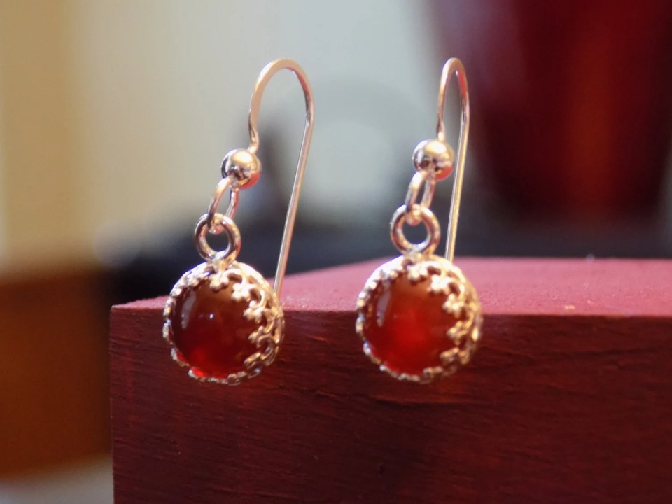 Dainty Sterling Silver an...