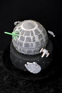 Star Wars Death Star Inspired Cake Custom Birthday Cake