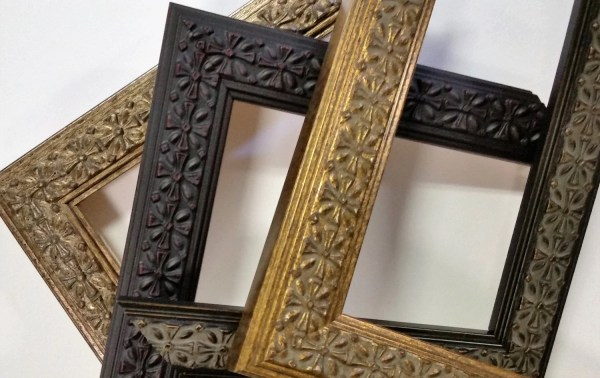 14 X 18 20 24 Wood Frames Ornate Vintage