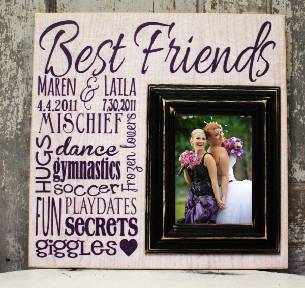 Personalized Friends Frame Madikaydesign