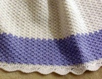 CROCHET Pattern - Baby Blanket / Afghan - Winter Frost ...