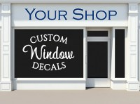 Custom Window Decals Storefront Business by ...