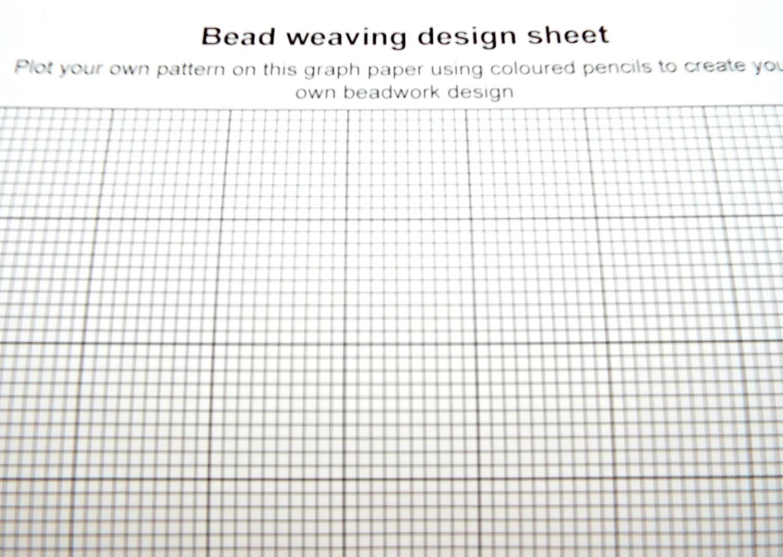 Bead Loom Kit, Beginners Bead Kit, Wooden Loom, DIY Bead
