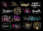 custom logo design salon