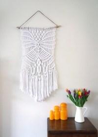 Macrame wall hanging / rope wall art / weaving / boho home