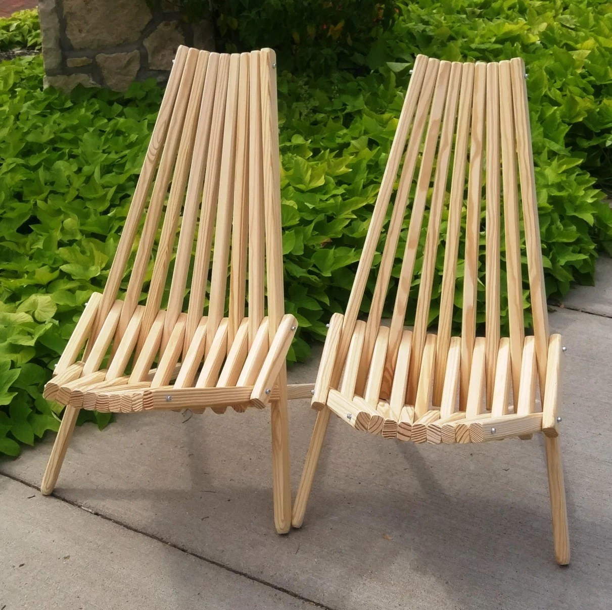 folding kentucky chair small outdoor chairs patio furniture unfinished stick adirondack