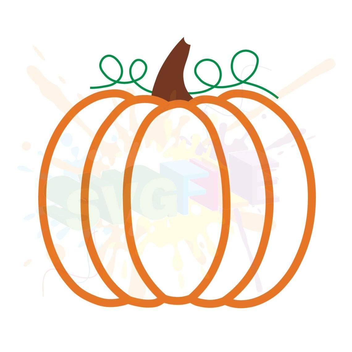 Download Pumpkin SVG Files for Kids Cricut Girl Boys Designs ...