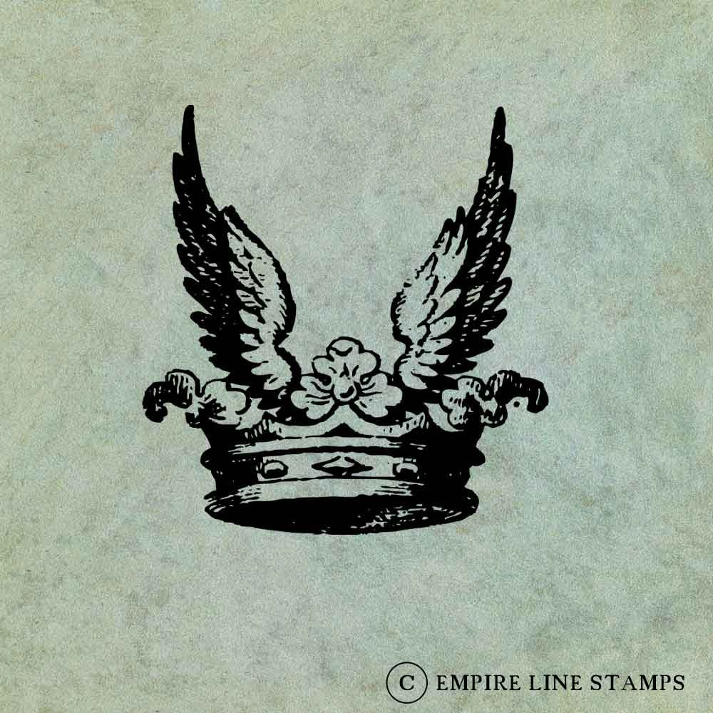 Crown with Wings - Antiqu...