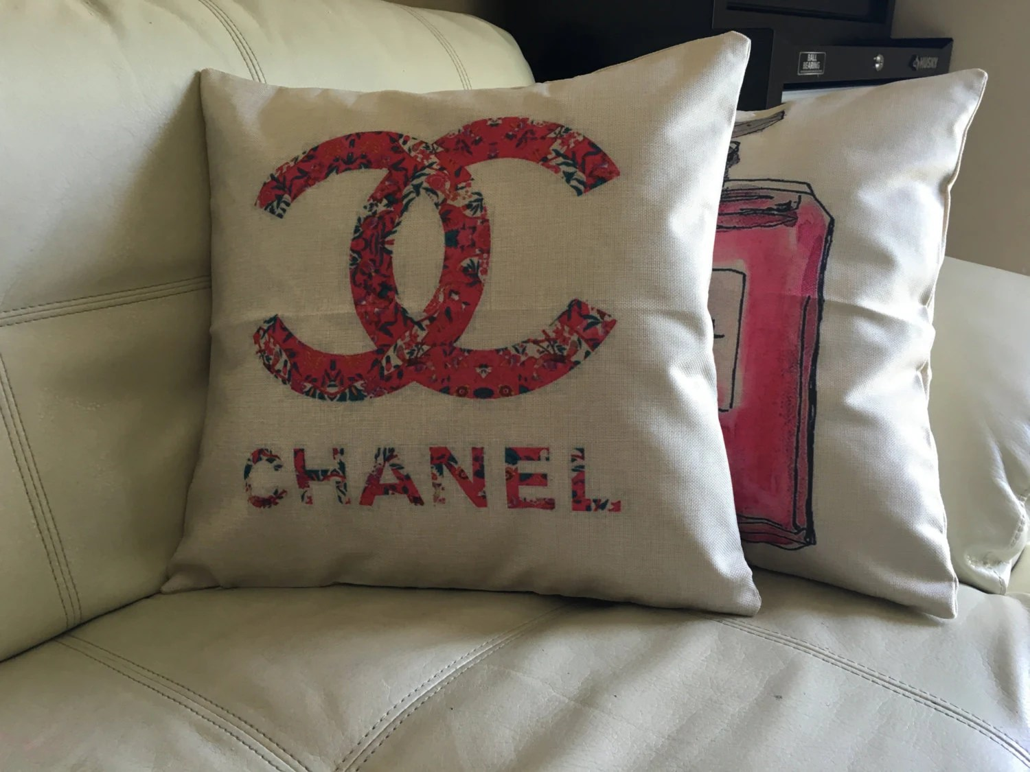 Chanel throw decorative pillow cover