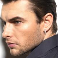 10 gauge hoop earrings men's hoop earrings by 360JewelsElite