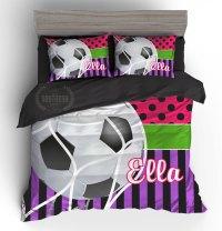 soccer bedding
