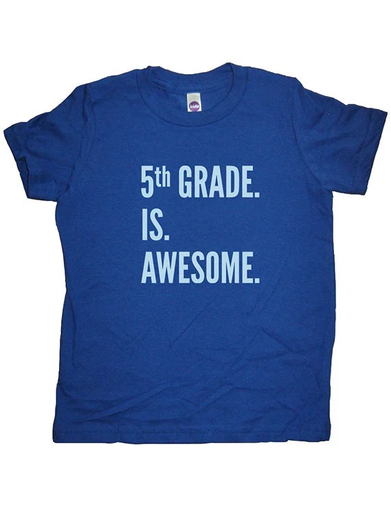 Fifth Grade Shirt 5th Grade Is Awesome Boys Or Girls Back