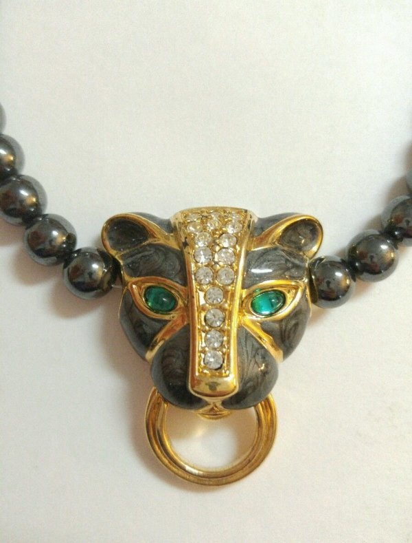 Seller Kenneth Jay Lane Duchess Panther Necklace