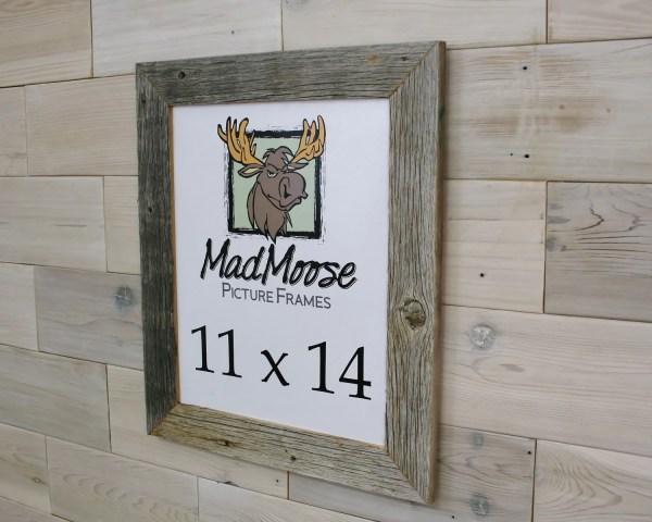 11x14 Barn Wood Thin X 2 Frame