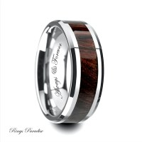 Mens Wedding Band Tungsten Anniversary Rings Promise Rings