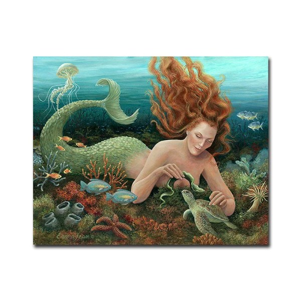 Mermaid Canvas Wall Art