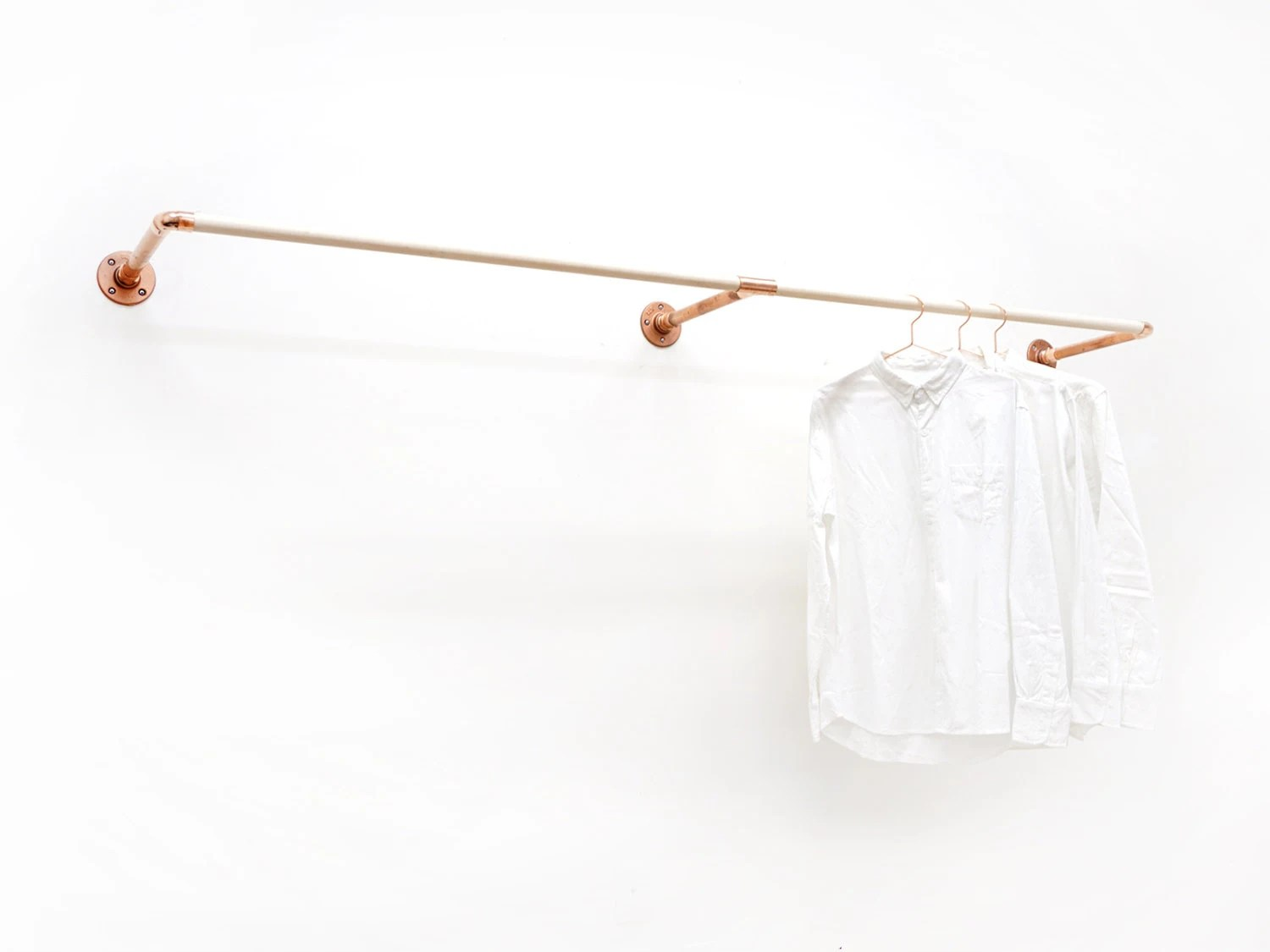W-Rack Wall Mount Clothing Rack