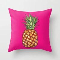 Throw Pillow Pineapple Pillow Tropical Pillow Decorative