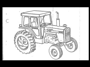 MASSEY FERGUSON MF50 Tractor Parts Manual for MF 50 Service