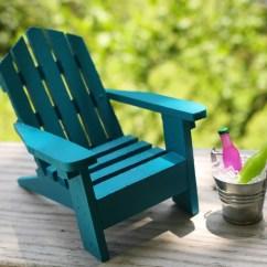 Mini Adirondack Chairs Bjs Office 1 Miniature Chair Tin Bucket Ice And Soda Fairy