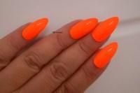 Neon Orange Acrylic Nails | www.imgkid.com - The Image Kid ...