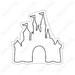 Cinderella's Castle Stitchie Feltie Applique Machine