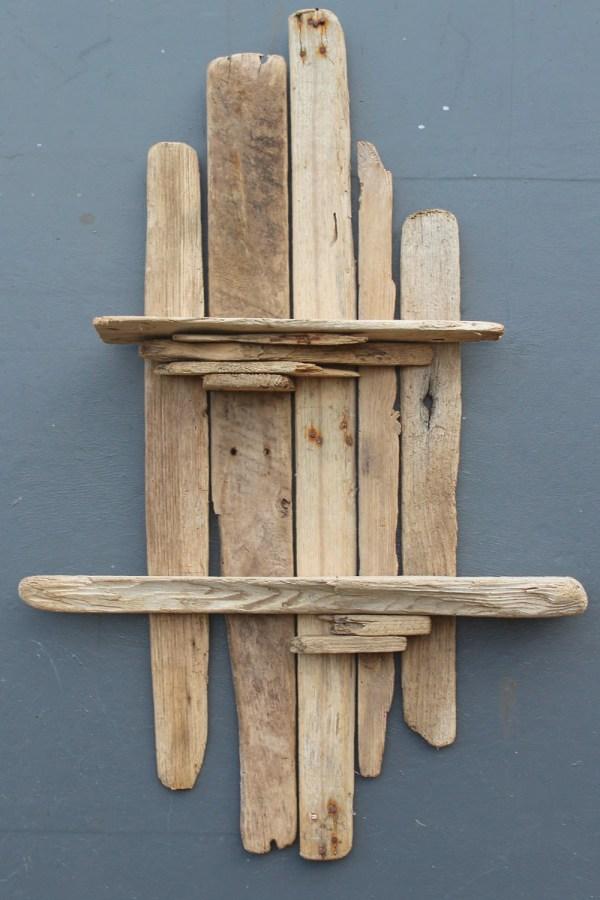 Driftwood Wall Shelfdrift Wood Shelveslarge Art